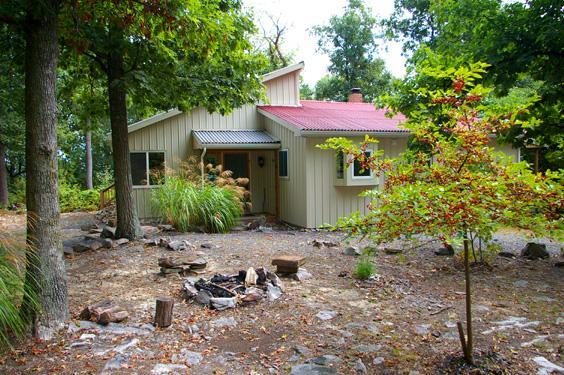 Above Sleepy Hollow rental home at Berkeley Springs Cottage Rentals in Berkeley Springs West Virginia