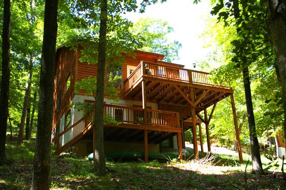 Almost Heaven rental home at Berkeley Springs Cottage Rentals in Berkeley Springs West Virginia