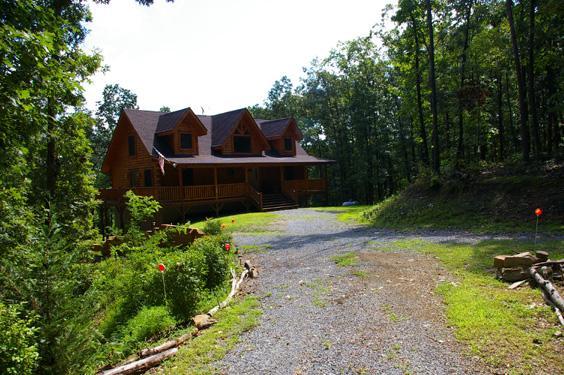 Berkeley Pine Manor rental home at Berkeley Springs Cottage Rentals in Berkeley Springs West Virginia