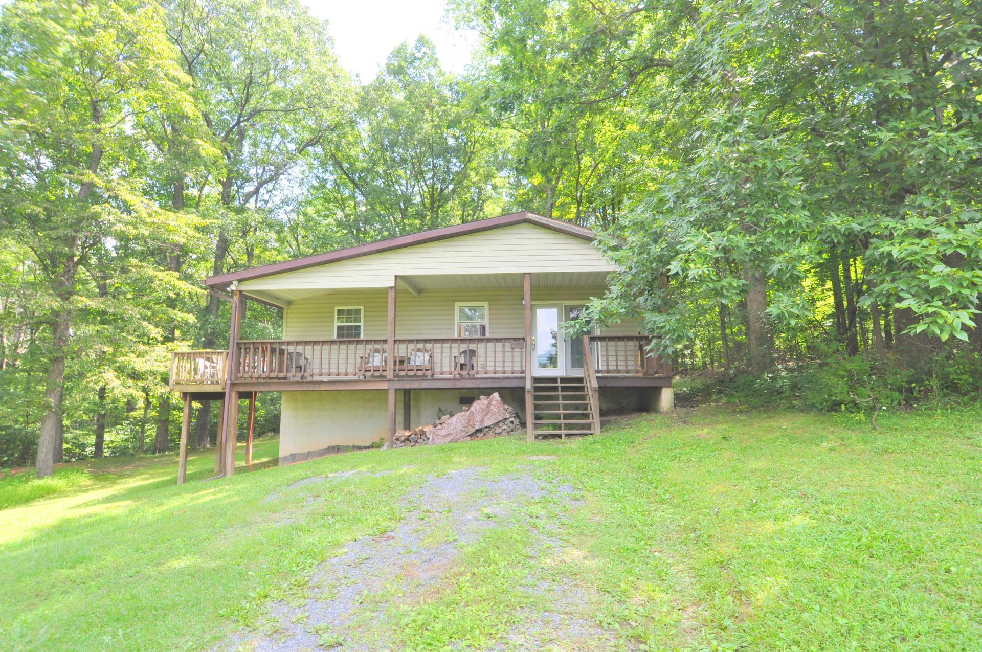 Davis Delight rental home at Berkeley Springs Cottage Rentals in Berkeley Springs West Virginia