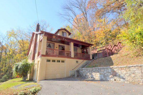 Fleur De Lis rental home at Berkeley Springs Cottage Rentals in Berkeley Springs West Virginia