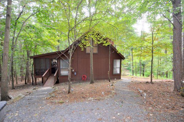 Fox Hollow rental home at Berkeley Springs Cottage Rentals in Berkeley Springs West Virginia