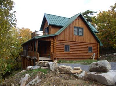 Freedom Mountain rental home at Berkeley Springs Cottage Rentals in Berkeley Springs West Virginia