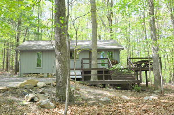 Greenwood rental home at Berkeley Springs Cottage Rentals in Berkeley Springs West Virginia