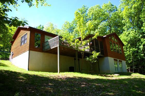 Healing House rental home at Berkeley Springs Cottage Rentals in Berkeley Springs West Virginia