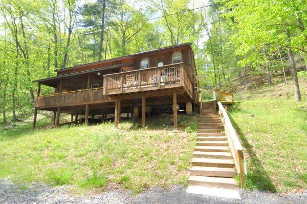 Mishka rental home at Berkeley Springs Cottage Rentals in Berkeley Springs West Virginia