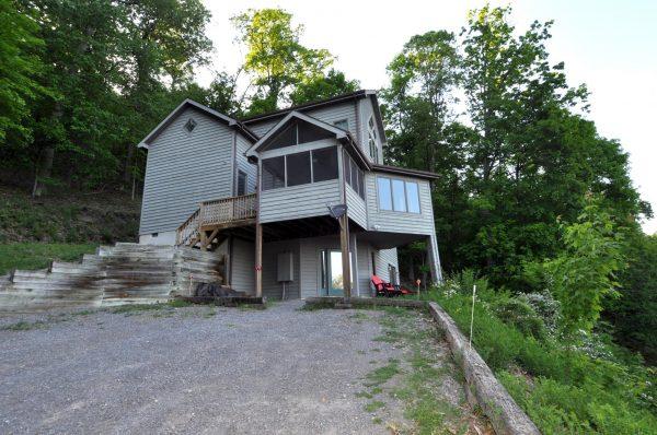 Point View rental home at Berkeley Springs Cottage Rentals in Berkeley Springs West Virginia