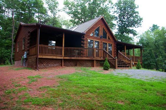 Seventh Heaven rental home at Berkeley Springs Cottage Rentals in Berkeley Springs West Virginia