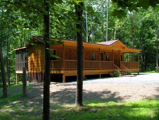 Sleepy Creek rental home at Berkeley Springs Cottage Rentals in Berkeley Springs West Virginia
