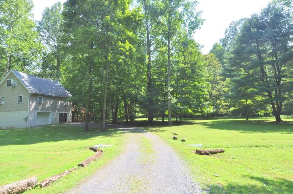 Trails End River Retreat rental home at Berkeley Springs Cottage Rentals in Berkeley Springs West Virginia