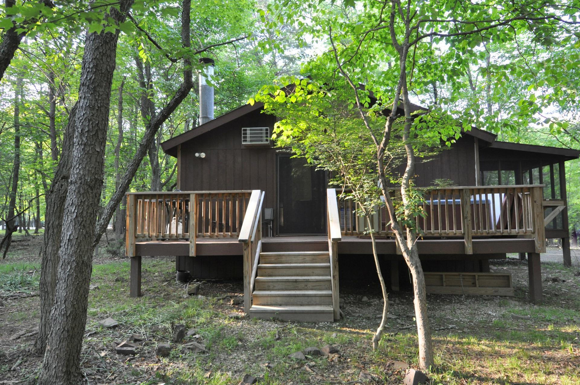 Woods Song rental home at Berkeley Springs Cottage Rentals in Berkeley Springs West Virginia